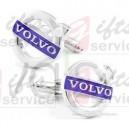 Spinki mankietowe logo Volvo