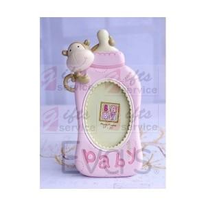 Ramka na zdjęcia w kształcie dziecięcej butelki