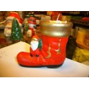 Christmas Sock Candles