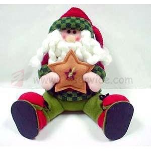 Pluszowy Mikołaj