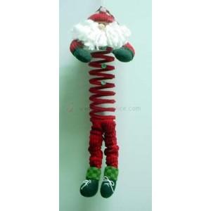 Mikołaj na sprężynce