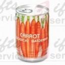 Puszka reklamowa z marchewką