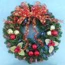 Christmas Lighted Wreaths