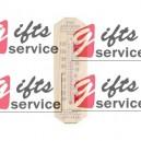 Drewniane termometry reklamowe z nadrukiem