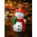 Christmas Snowman Candles