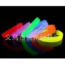 Fluorescencyjna bransoletka silikonowa