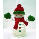 Christmas Spring Snowman